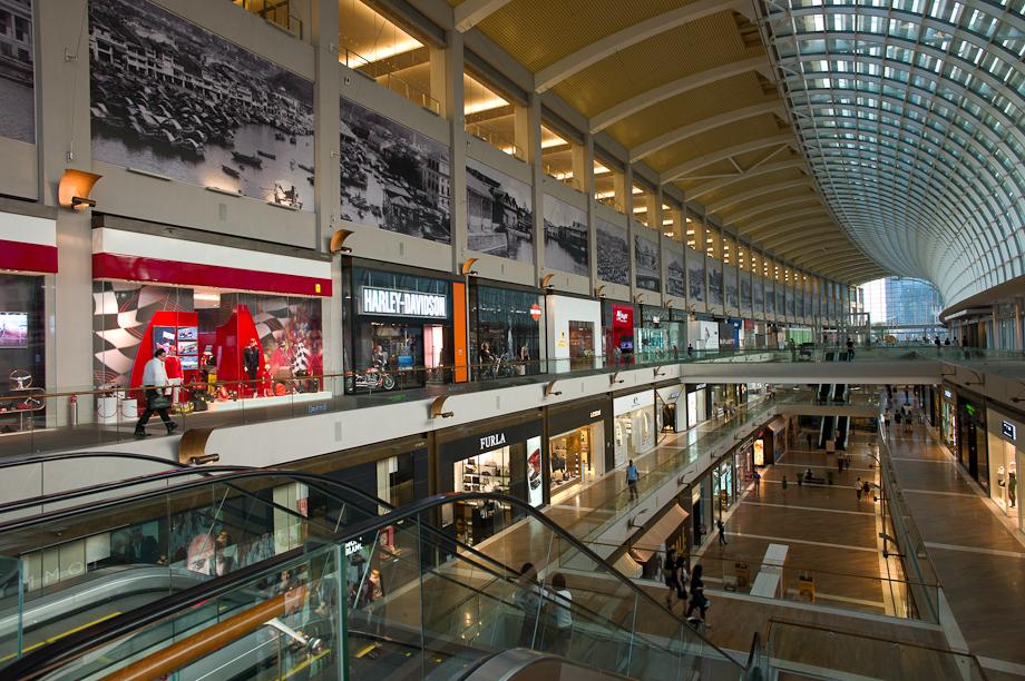 Shopping at Marina Bay Sands