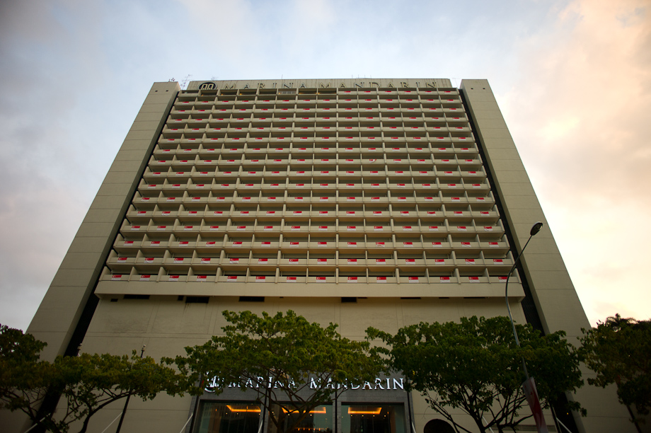 Marina Mandarin Hotel in Singapore