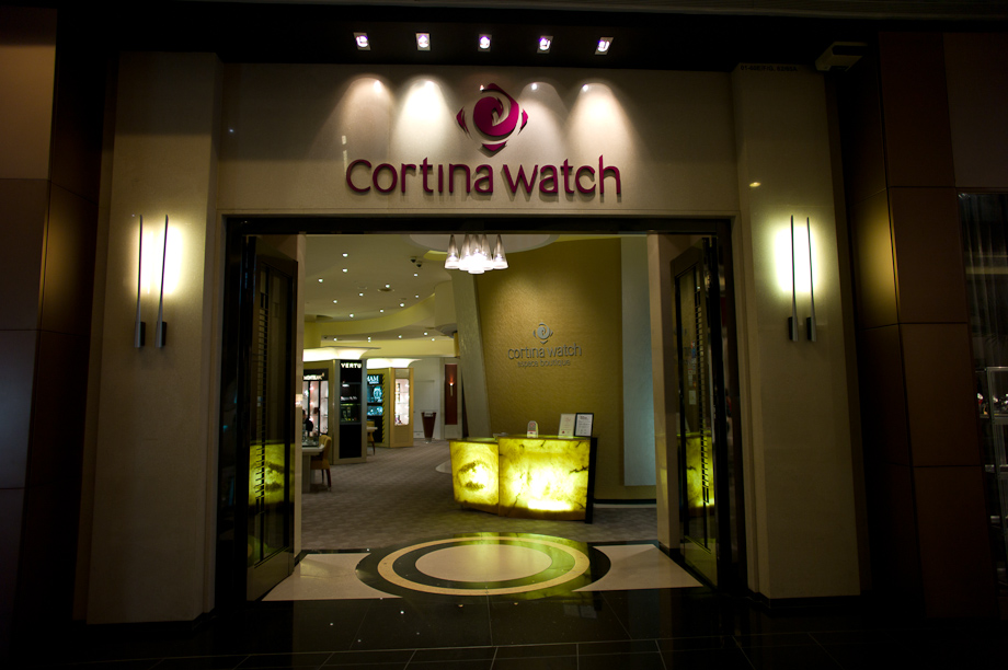 Cortina Watch in Singapore