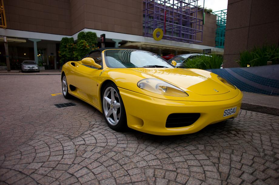 Lamborghini in Singapore