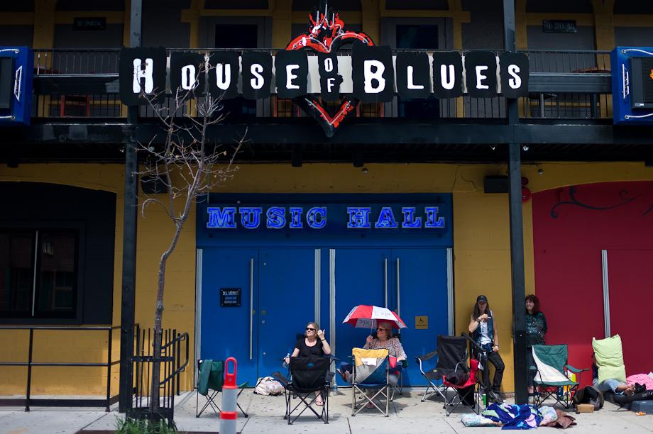 House of Blues on Lansdowne Street in Boston