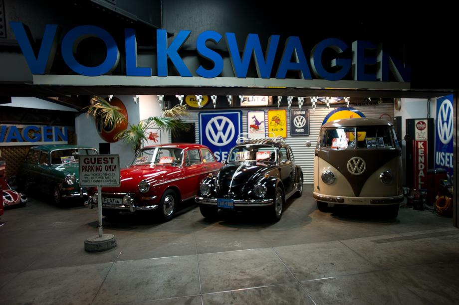 Flat 4 Volkswagen Shop in Tokyo