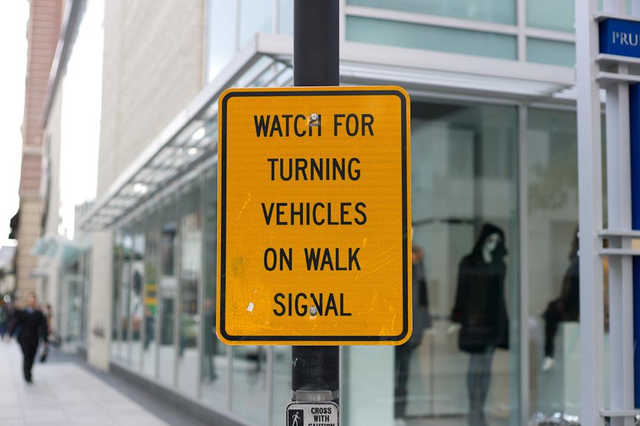 Street signs in Boston