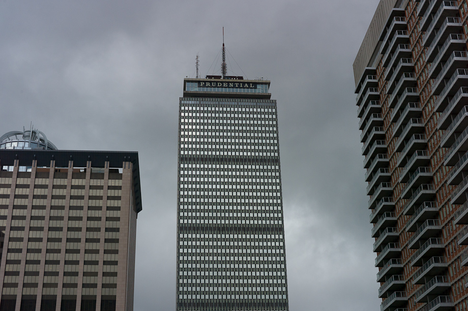 The Prudential Building in Boston