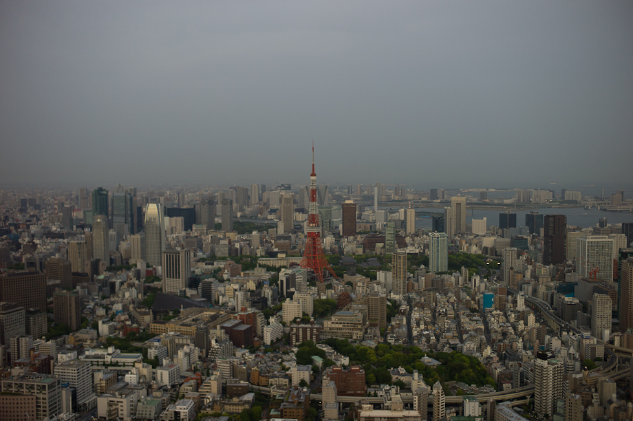View from Roppongi Hill Sky View