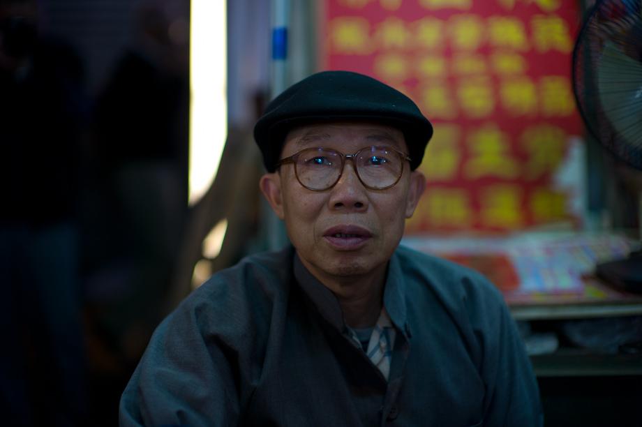 Fortune Teller in Mongkok Hong Kong