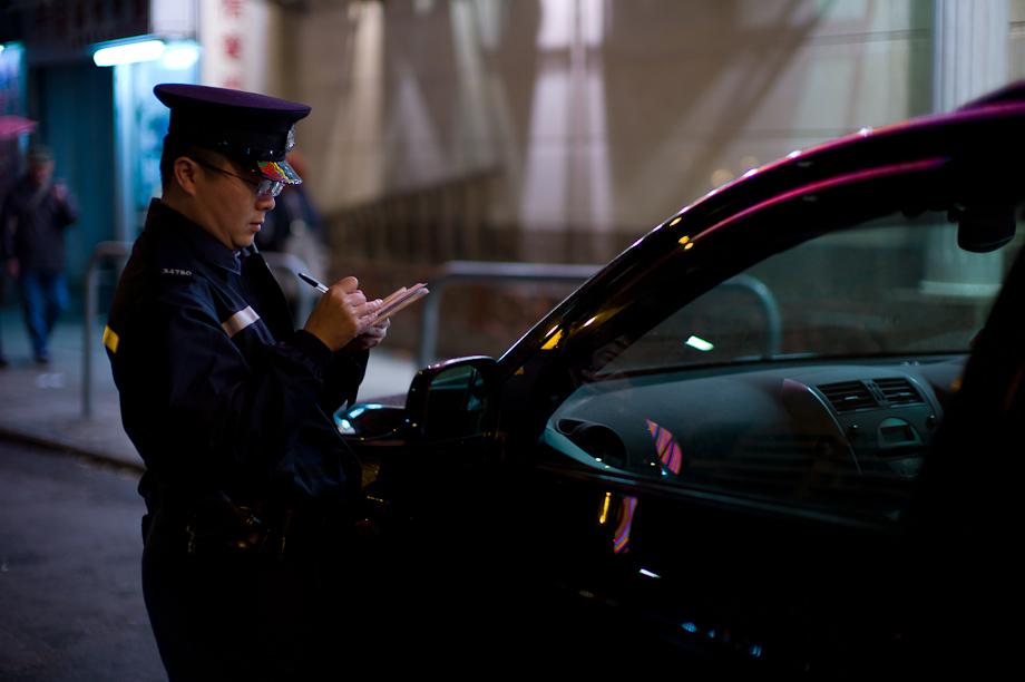 Cop in Mong Kong Hong Kong