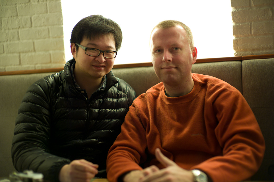 Dave Powell from ShootTokyo and Andrew Chan from SLR Magic