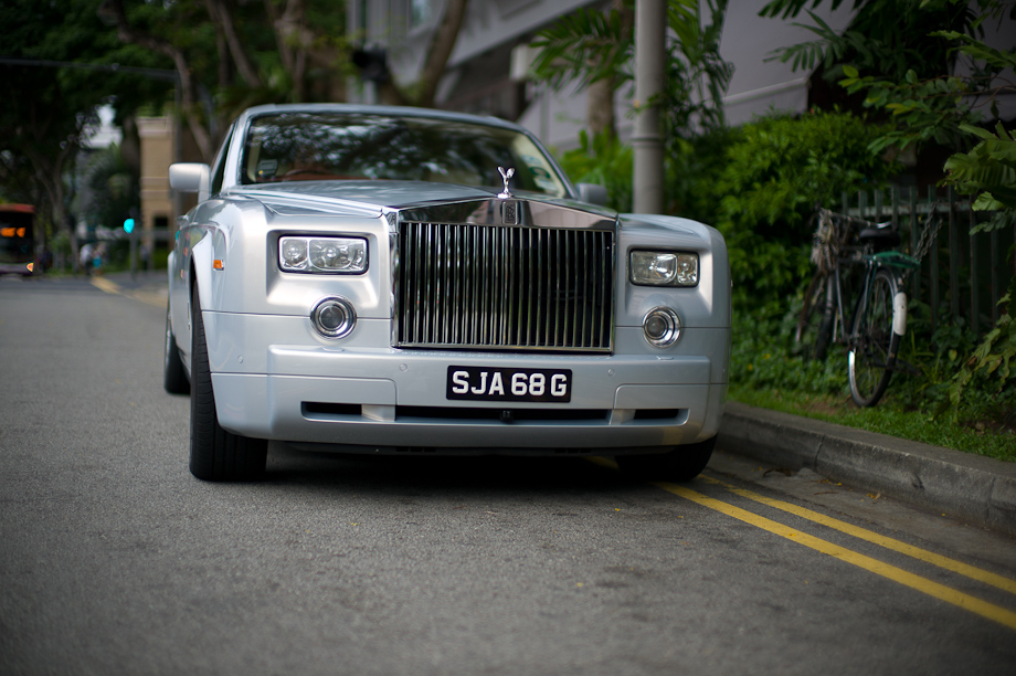 Rolls Royce in Singapore