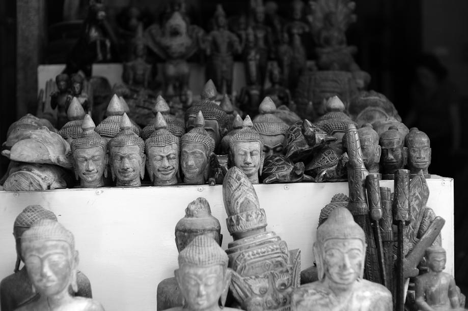 The Russian Market in Phnom Penh, Cambodia