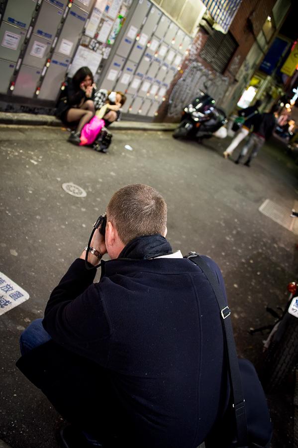 Shooting in Shibuya