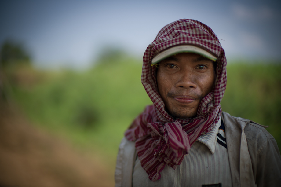 Farming supported by Tabitha Cambodia