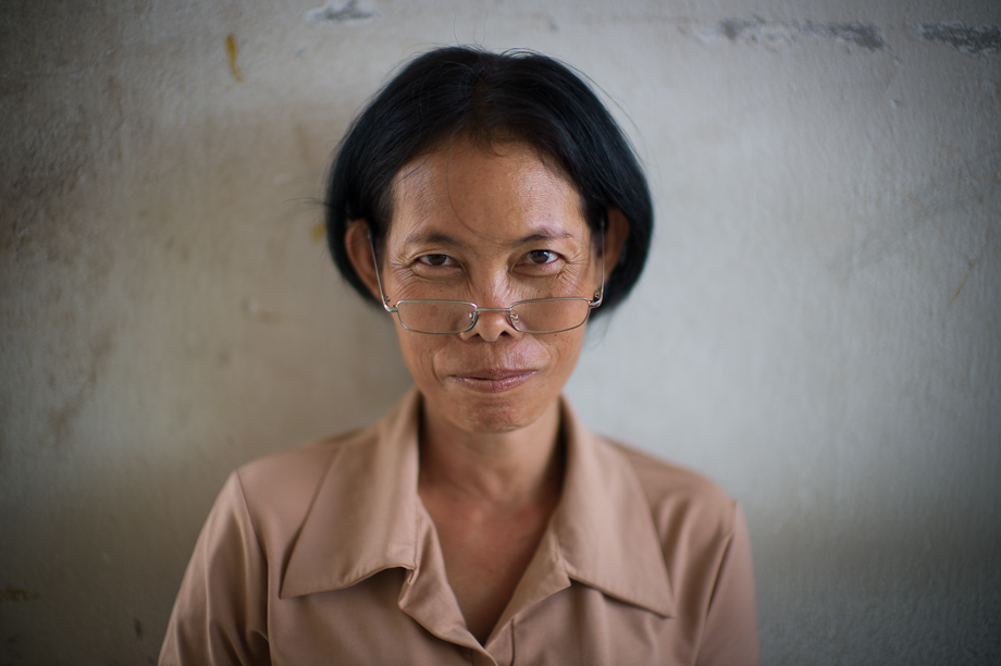 Worker at the Tabitha Store in Phnom Penh