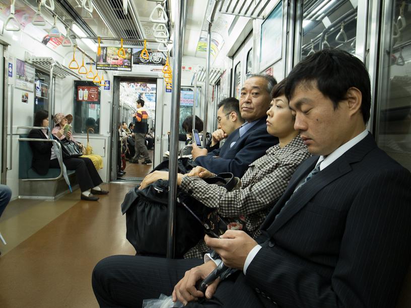The train to Roppongi