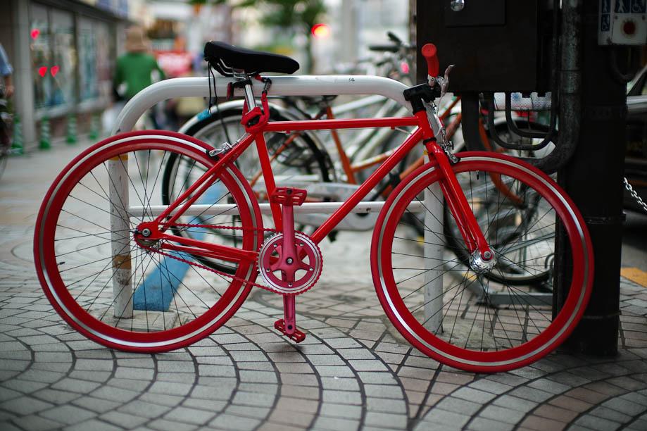 Cool Red Bike