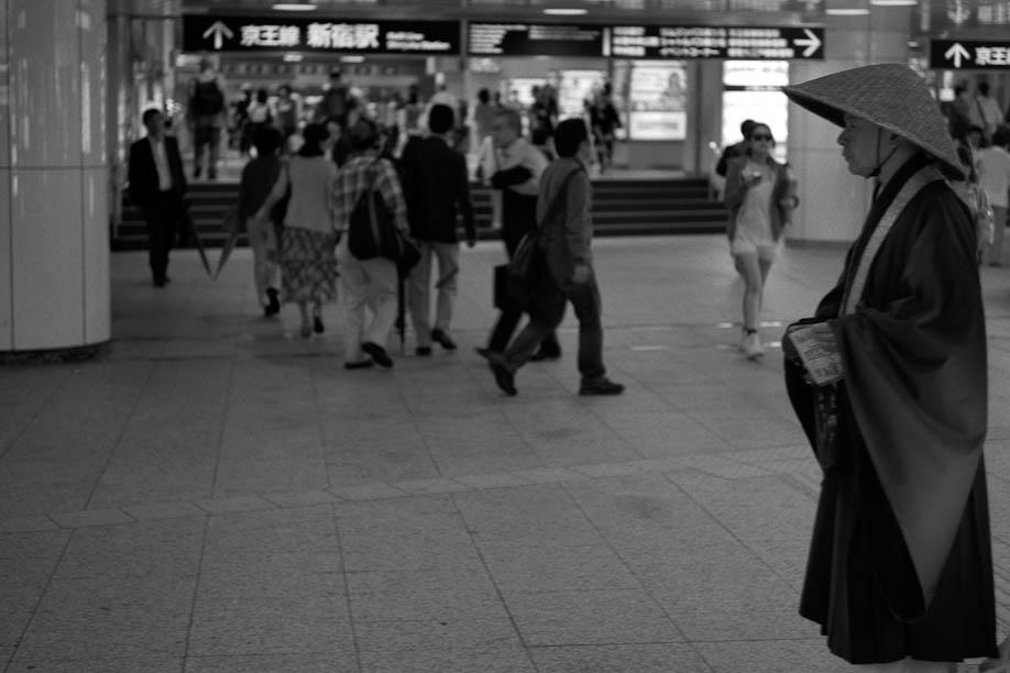 Monk in Shinjuku