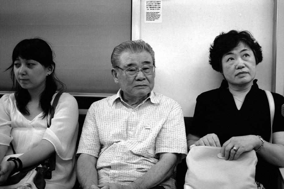 Strangers on the train