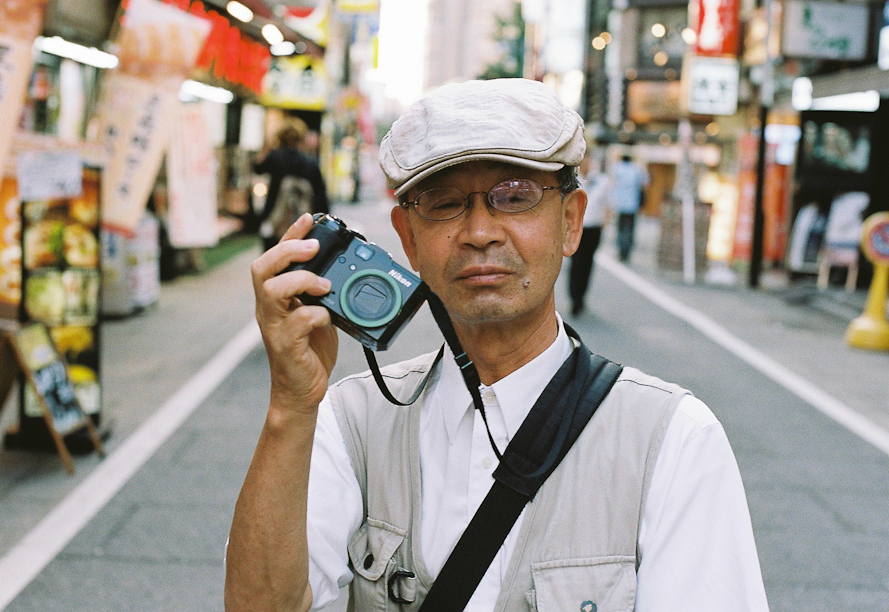 Camera Man in Shinjuku