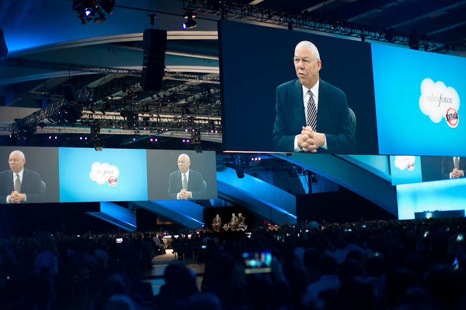 General Colin Powell at Dreamforce12