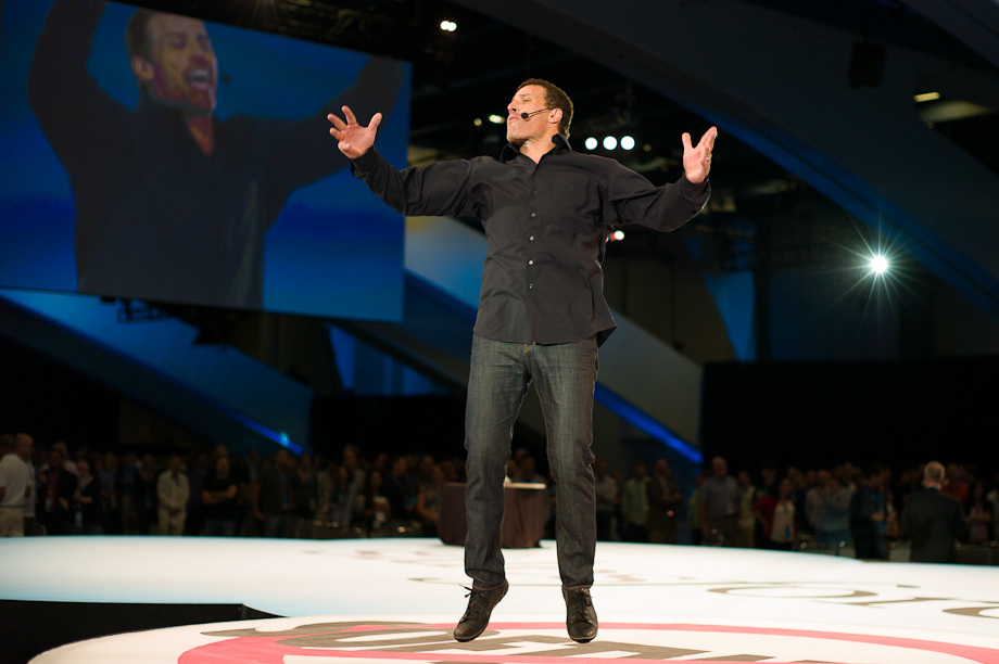 Tony Robbins at Dreamforce