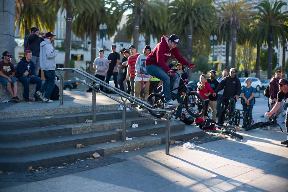 Street Tricks on Bikes
