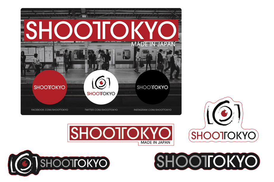 ShootTokyo Buttons and Stickers