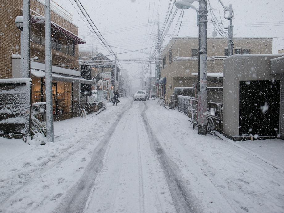 Tokyo Snow Storm, January 14th 2013