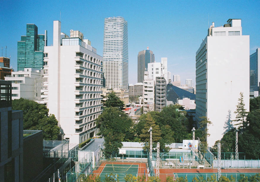 View from the roof of Tokyo American Club