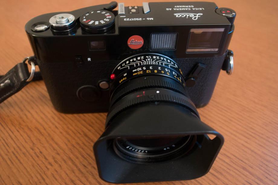 The Leica M6 Millenium