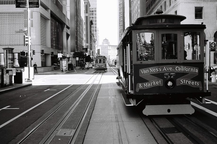 Trolly in San Francisco