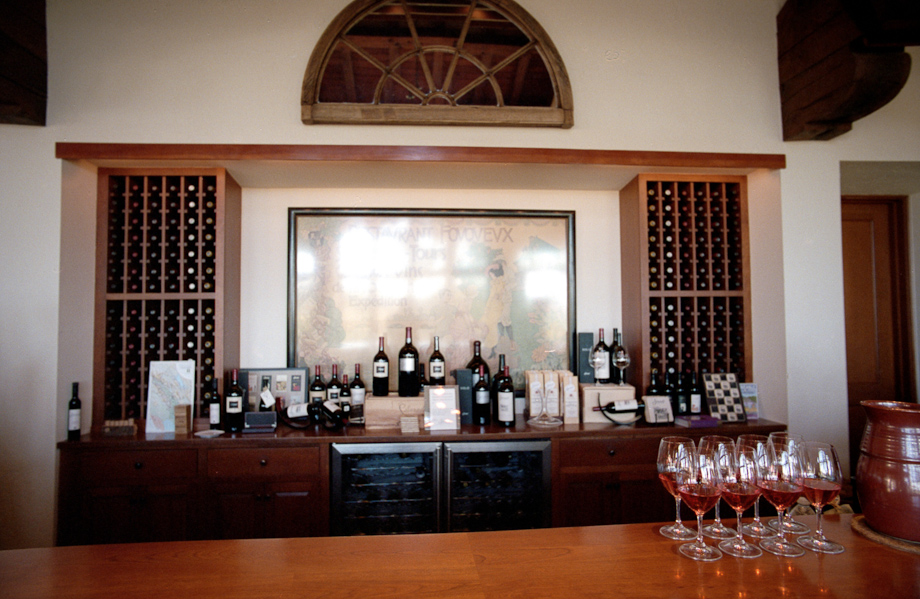 Wine tasting at Silverado in Napa Valley
