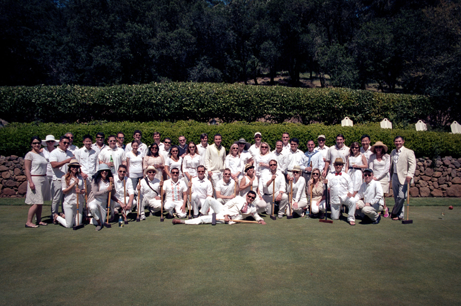 Croquet in Napa Valley at Meadowood