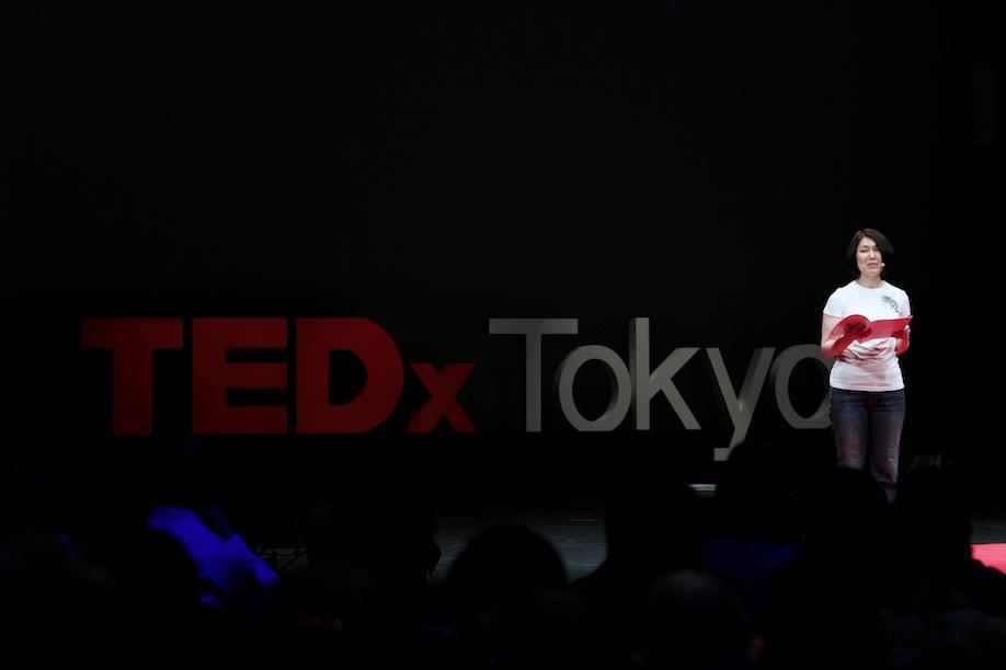 Mitsubako Matsuo speaking at TEDxTokyo 2013