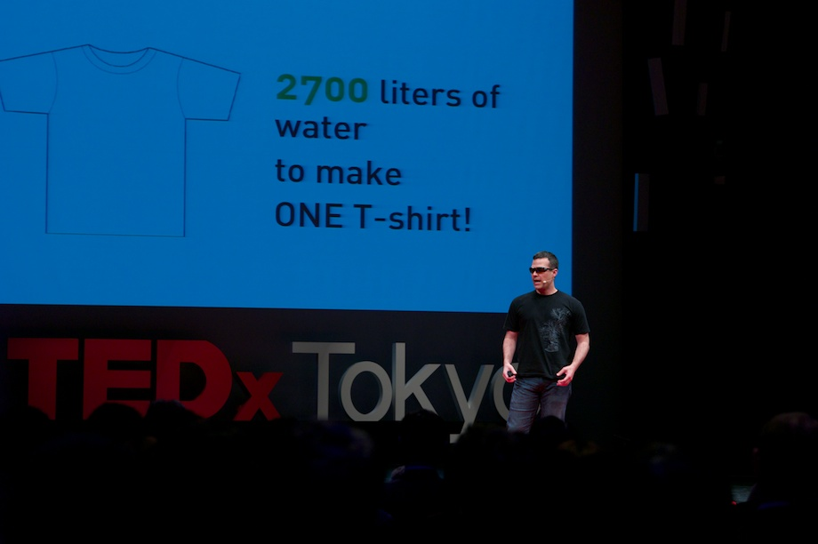 Alvaro Cedeno Molinari speaking at TEDxTokyo 2013