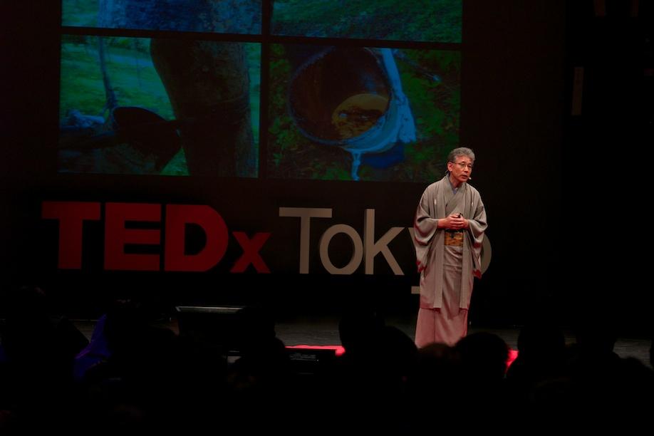 Kazumi Murose speaking at TEDxTokyo 2013