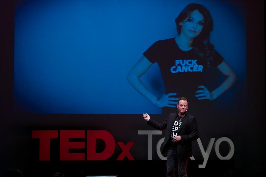 John Kluge speaking at TEDxTokyo 2013