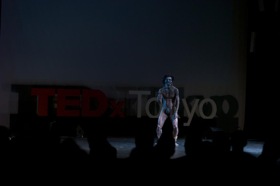 Taketeru Kudo performing at TEDxTokyo 2013