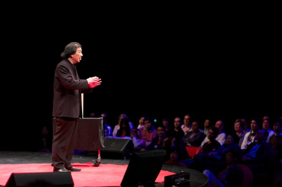 Shigeru Ban speaking at TEDxTokyo 2013