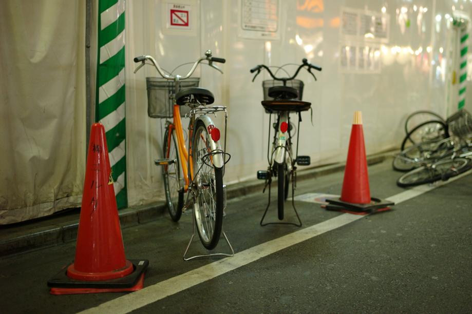 Bike Parking in Tokyo
