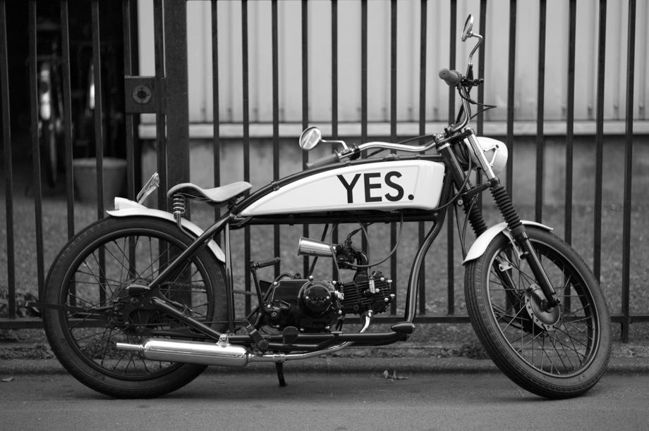 Yes Motorcycle in Jiyugaoka