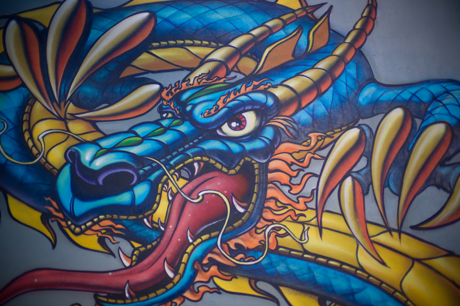 Dragon in Chinatown