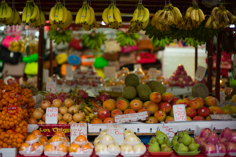 Fruit Stand in Singapore