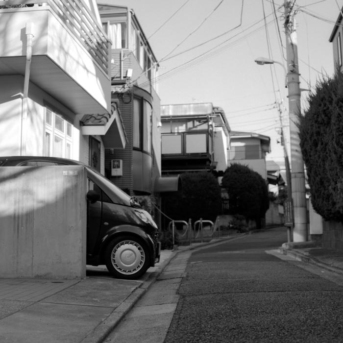 Narrow Tokyo Streets