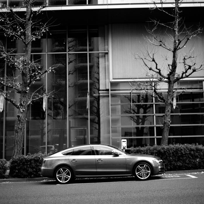 Audi S5 in Monsoon Gray