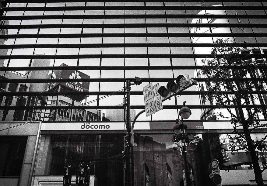 Reflections in Shibuya