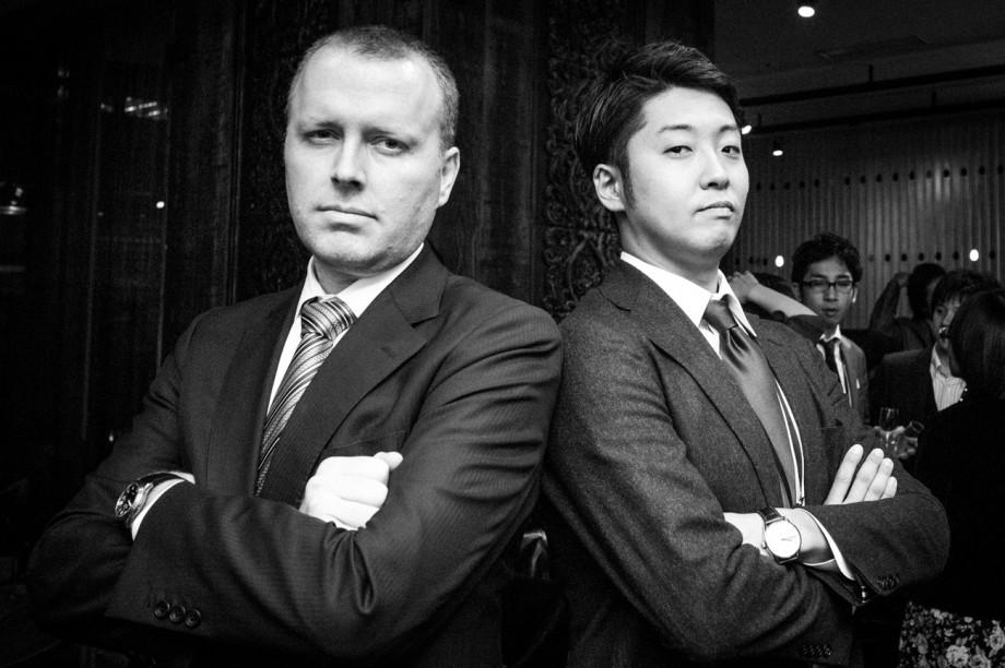 Dave and Shigeno-san