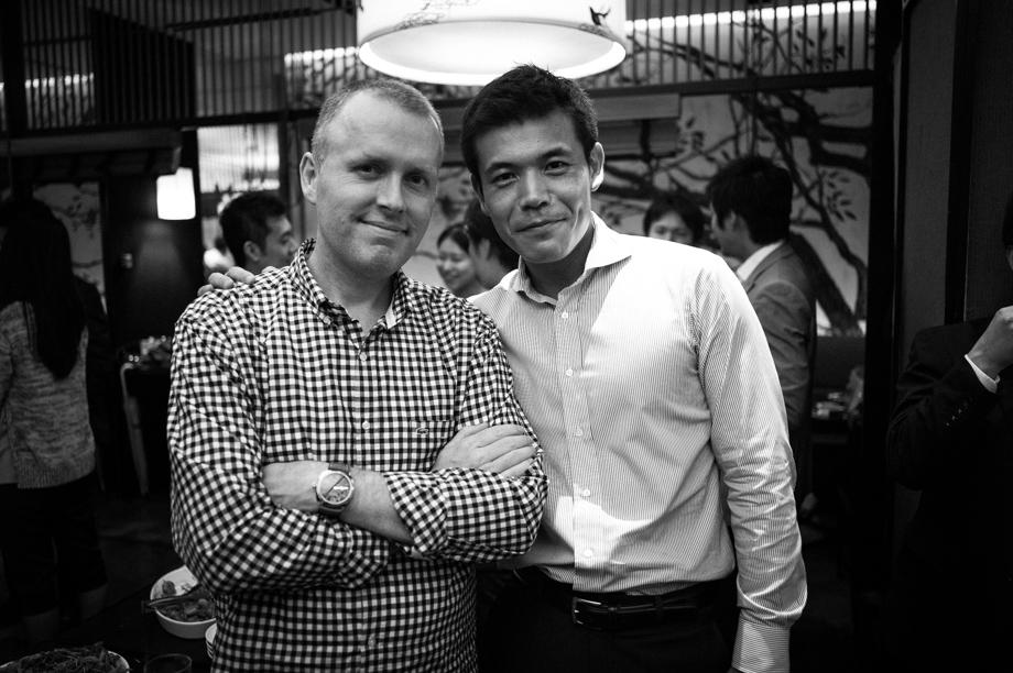 Dave and Suzuki-san
