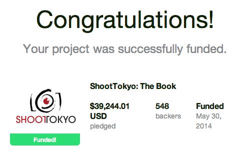ShootTokyo Kickstarter