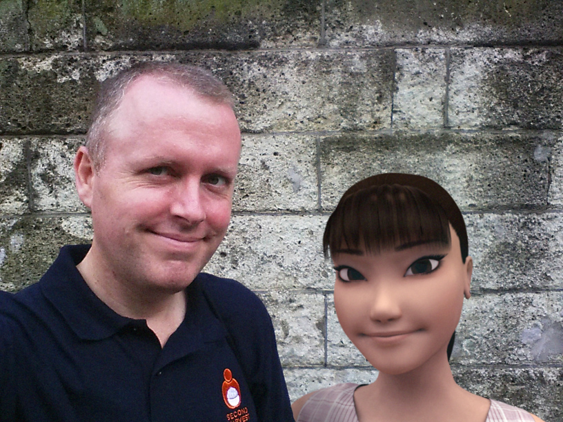 Ami Yamoto and Dave Powell