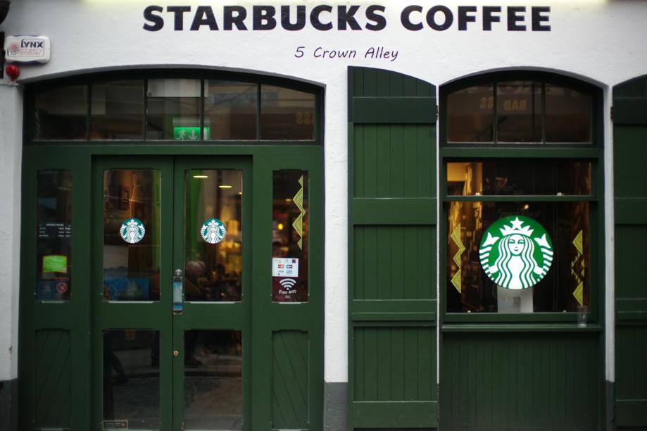 Starbucks Coffee in Dublin Ireland